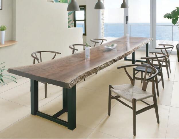 世界に一つだけの特別なテーブルを『一枚板ギャラリー』