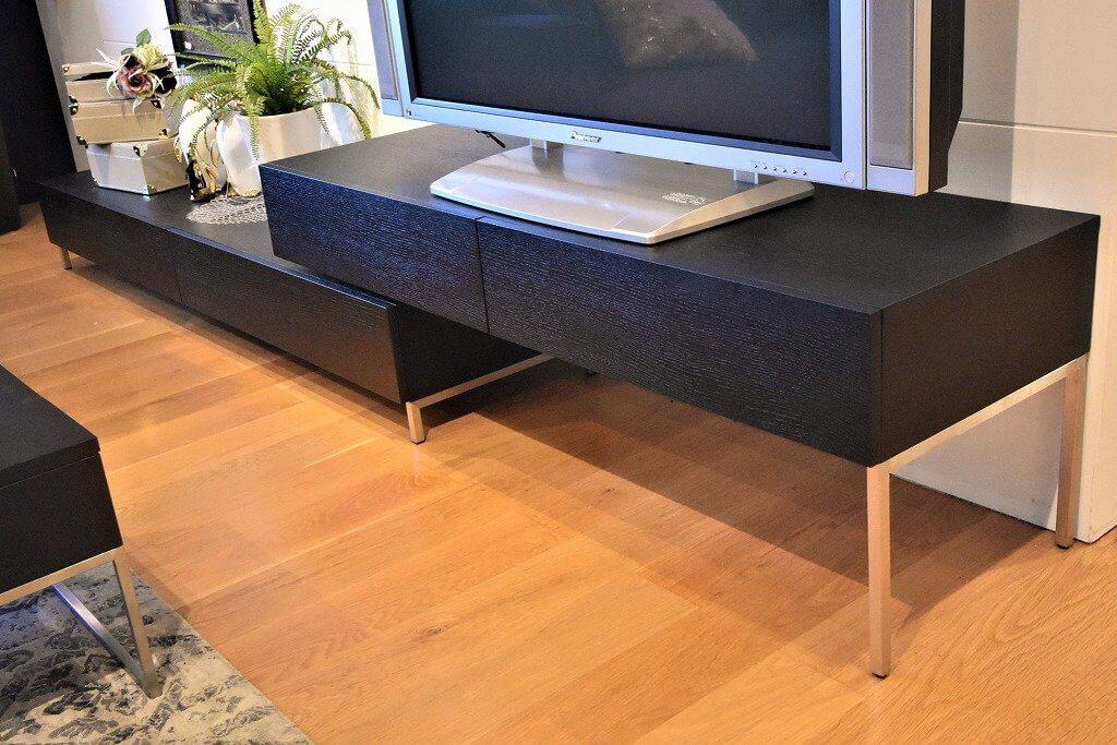 テレビボード VERDE ブラックオークのテレビボードです。サイズを自由に変更可能です。