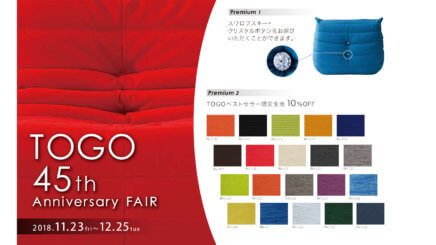 TOGO 45th Anniversary FAIR ~12/25