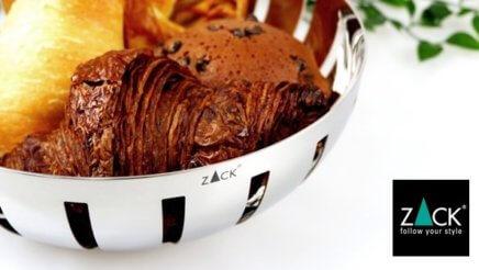 ドイツのステンレス製デザインハウスウェア『ZACK』