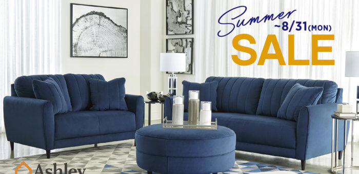 Summer Sale ~8/31(Mon) Ashley Furniture HomeStore